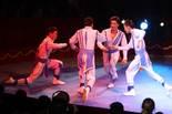 Festival Internacional de Circ de Figueres Els membres de la Troupe Zola de Mongòlia.