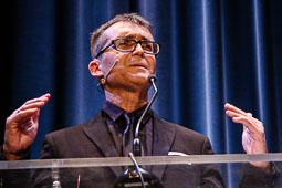 Festval Internacional de Cinema Fantàstic de Sitges 2014 (II) 03/10/2014 El director del Festival de cinema de Sitges, Àngel Sala, a la gala inaugural.