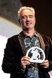 Festval Internacional de Cinema Fantàstic de Sitges 2014 (II) 03/10/2014 Roland Emmerich, director d'«Independence Day» o «Stargate», amb el Gran Premi Honorífic del Festival de Sitges