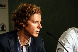 Festval Internacional de Cinema Fantàstic de Sitges 2014 (II) 04/10/2014 El director de «Young Ones», Jake Paltrow