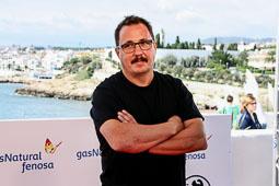 Festval Internacional de Cinema Fantàstic de Sitges 2014 (II) 05/10/2014 El director de «La Distancia» i codirector del Sónar, Sergio Caballero, al Festival de cinema de Sitges