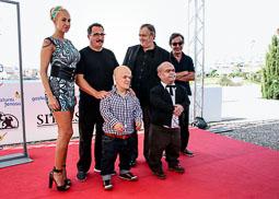 Festval Internacional de Cinema Fantàstic de Sitges 2014 (II) 05/10/2014 L'equip de «La Distancia».