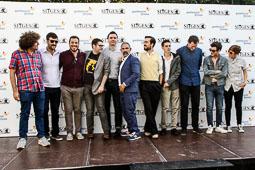 Festval Internacional de Cinema Fantàstic de Sitges 2014 (II) 06/10/2014 L'equip d'«Amor eterno», aquest diulluns a Sitges.