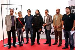 Festval Internacional de Cinema Fantàstic de Sitges 2014 (II) 07/10/2014 Foto de família del Premi Minotauro al Festival de Sitges.