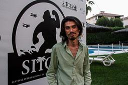 Festval Internacional de Cinema Fantàstic de Sitges 2014 (II) 08/10/2014 André Cruz Shiraiwa, director de  «L'altra frontera».