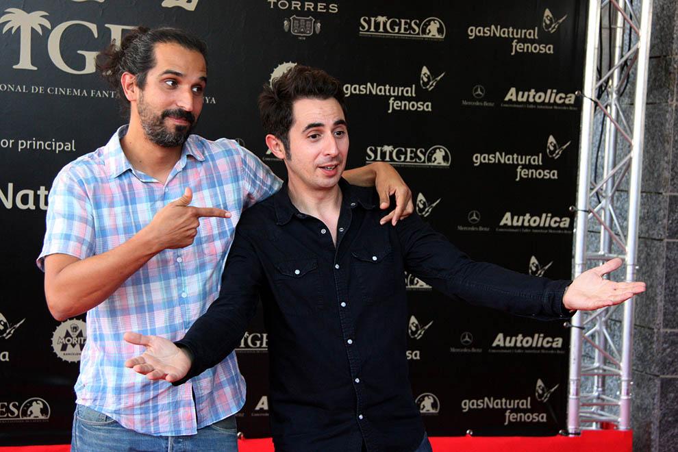 Festval Internacional de Cinema Fantàstic de Sitges 2014 (II) Javier Ruiz Caldera, i Berto Romero .