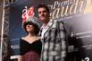 Premis Gaudí 2010 El president de l'Acadèmia del Cinema Català, Joel Joan, acompanyat per l'actriu Anna Sahun.