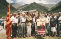Aquella primera ERC independentista Crida de Núria, el 7 de juliol de 1991, en l'aniversari de l'Estatut de 1931, amb la presència de Josep Huguet, Heribert Barrera, Miquel Pueyo, Carod-Rovira, Colom, Rodri i d'altres dirigents republicans.