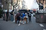 Tarda de vaga general a Barcelona: manifestació i aldarulls