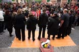Manifestació pro cinema Rambla a l'Hospitalet