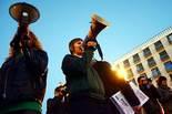 Estudiants i professors contra la llei Wert i les retallades