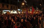 Manifestació d'estudiants a Barcelona
