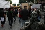 Manifestació d'estudiants a Tarragona