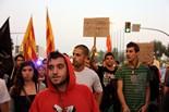 Manifestació a Lleida per l'absolució de Pablo Hasél