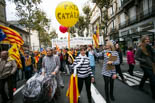 Manifestació «Sem Catalunya Nord, sem un país català. Volem decidir» a Perpinyà