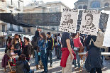 Manifestació de la #primaverareus al 16è Congrés de CDC
