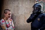 Tensió entre simpatitzants de la PxC i manifestants antifeixistes