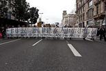 Manifestació contra la reforma laboral a Barcelona