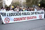 La comunitat educativa contra les retallades