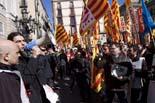 Treballadors del sector del tractament d'aigües es manifesten a Barcelona