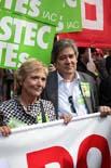 12.000 mestres protesten a Barcelona contra la política educativa de Maragall