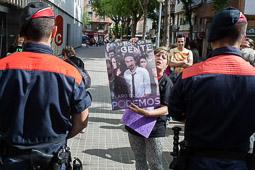 Eleccions europees: míting del PP a La Farga de l'Hospitalet