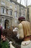 Pessebre de la Plaça Sant Jaume de Barcelona