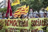 Protesta contra Felip de Borbó a Girona