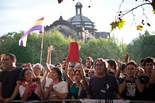 #25-S protesta dels Indignats a la porta del Parlament