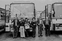 Ocupació de la duana del Portús contra l'extradició de Viusà, 1979 Primers moments de l'expedició a la frontera.