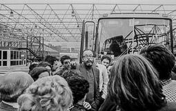 Ocupació de la duana del Portús contra l'extradició de Viusà, 1979 Lluís Maria Xirinacs.