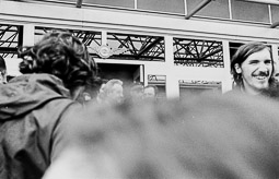 Ocupació de la duana del Portús contra l'extradició de Viusà, 1979 Frederic Bentanachs i Chalaux, Freddy.