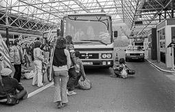 Ocupació de la duana del Portús contra l'extradició de Viusà, 1979 Més intents d'impedir el pas dels vehicles.