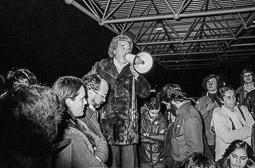 Ocupació de la duana del Portús contra l'extradició de Viusà, 1979 L'ocupació de la duana fronterera es va mantenir durant tota la nit.