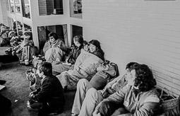 Ocupació de la duana del Portús contra l'extradició de Viusà, 1979 Comença el dia 9, segona jornada d'ocupació.