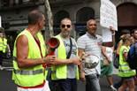 Treballadors de BSM es manifesten contra la supressió de la paga de Nadal