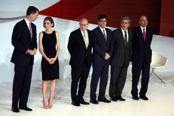 Felip VI presideix l'entrega dels Premis Fundació Príncep de Girona