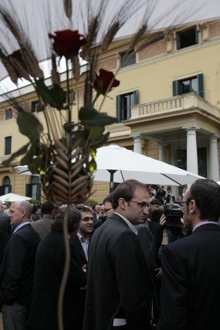 Esmorzar de Sant Jordi al Palau de Pedralbes, 2010