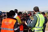 Simulacre d'accident aeri a l'Aeroport d'El Prat