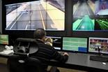 Simulacre d'accident de trànsit al túnel de Casserres Seguiment des del Centre de Conservació de Cedinsa.