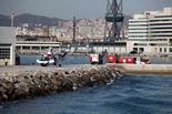 Simulacre d'avís d'explosius al Port de Barcelona