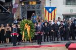 Acte institucional al Fossar de les Moreres