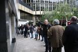 Protestes davant de Catalunya Ràdio
