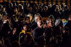 Concentració de l'ANC «Volem govern»