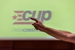Eleccions 27-S: míting de la CUP a Vic