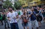 Protesta a la delegació del govern espanyol de Barcelona