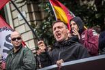 El feixisme es manifesta contra el 9-N