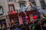 28F: Vaga d'estudiants a Barcelona