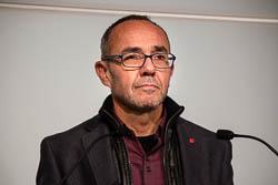 Les cares del dia després: el no de la CUP a Mas.  Joan Coscubiela a la roda de premsa de valoració del \