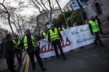 Manifestació de la PAH contra els desnonaments
